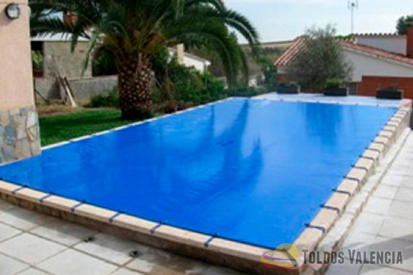 lona cubre piscina toldos valencia