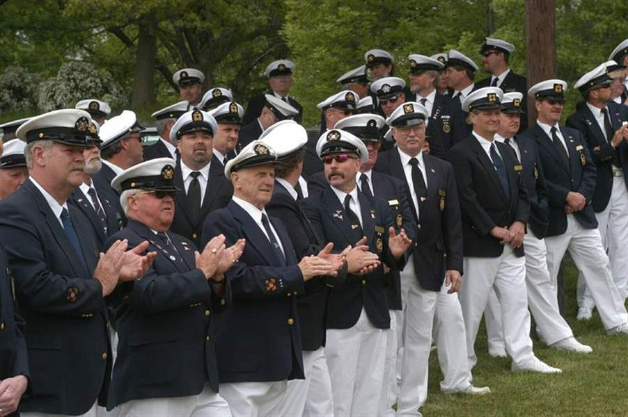 Port Opening Salute To Water Men The Blade