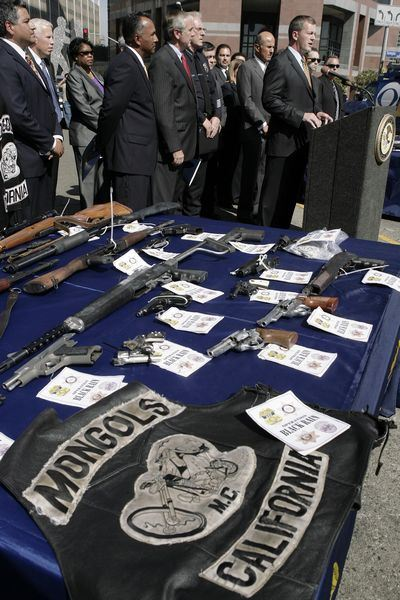 Mongols motorcycle gang arrested in federal sweep of 6 ...