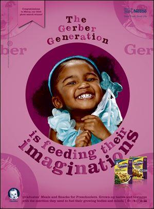 Toledo girl's Gerber ad scheduled - Toledo Blade