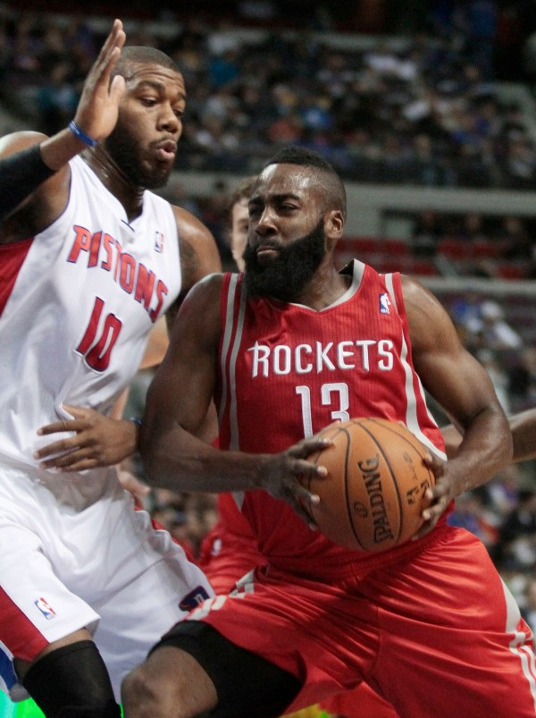 Rockets beat Pistons 105-96 - The Blade