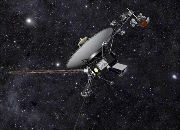 Out there NASA says its Voyager 1 probe has become first
