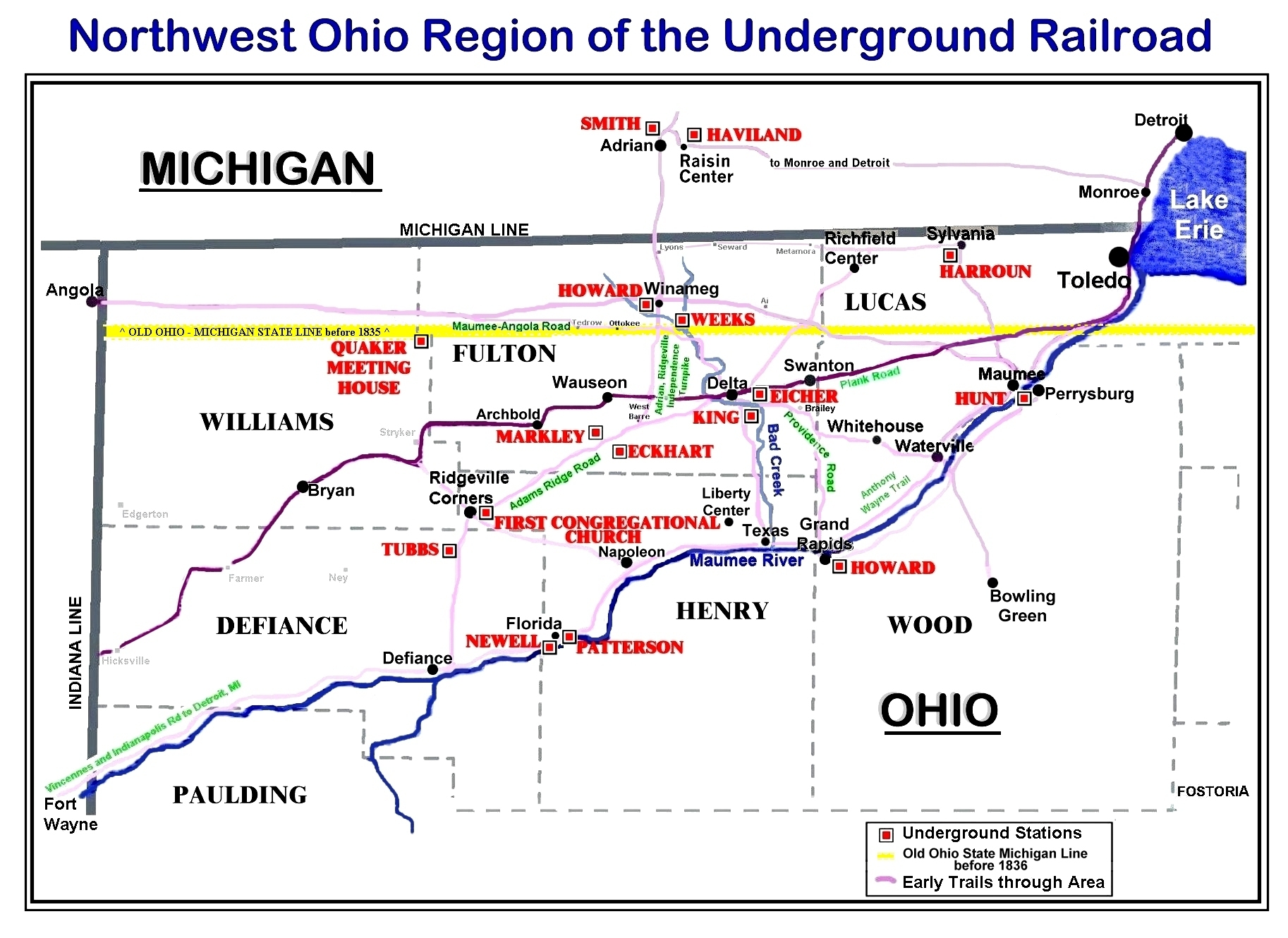 Sylvania Toledo Map Ohio And