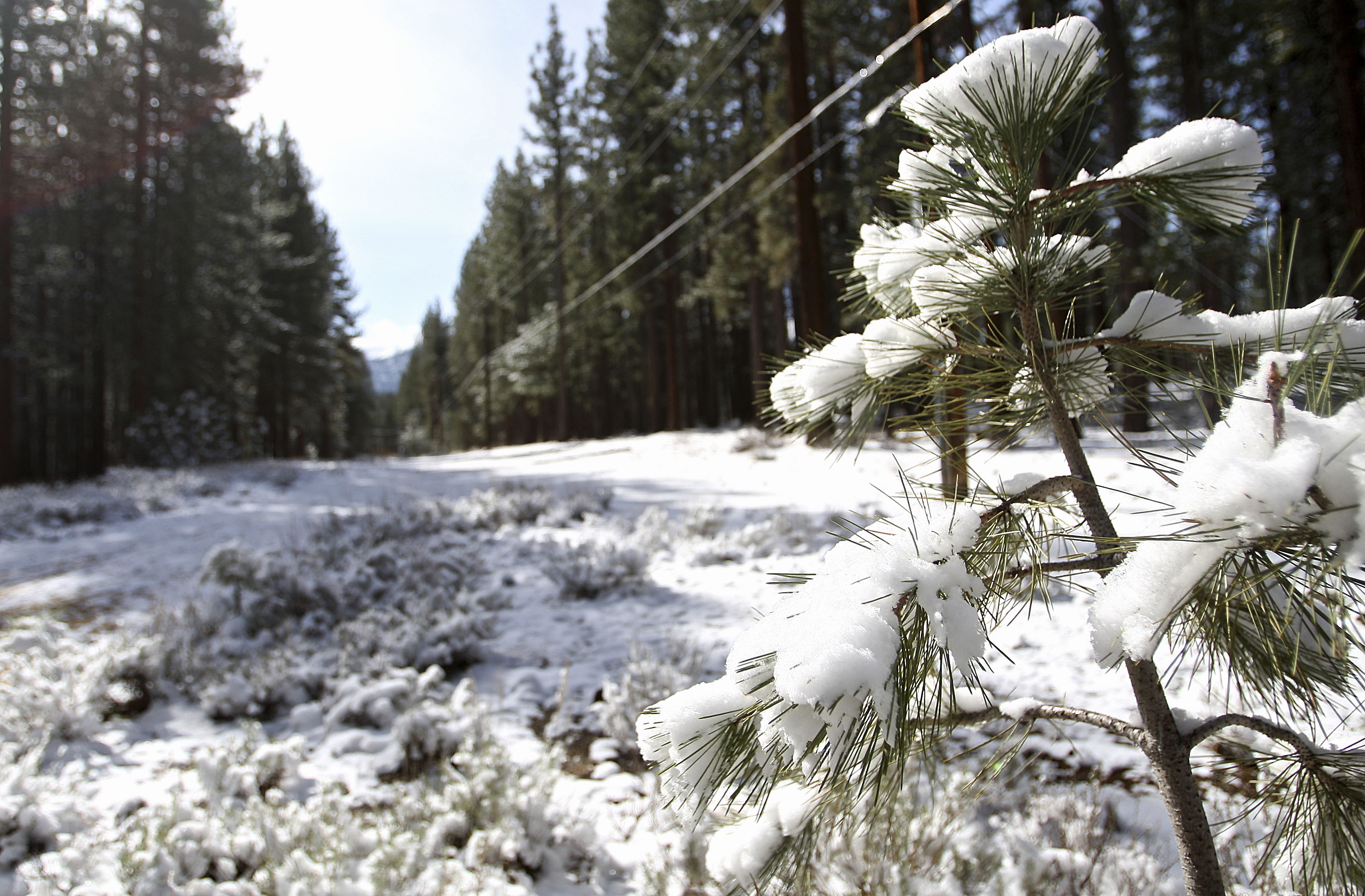Storm Brings Rain And Snow But Little Relief To