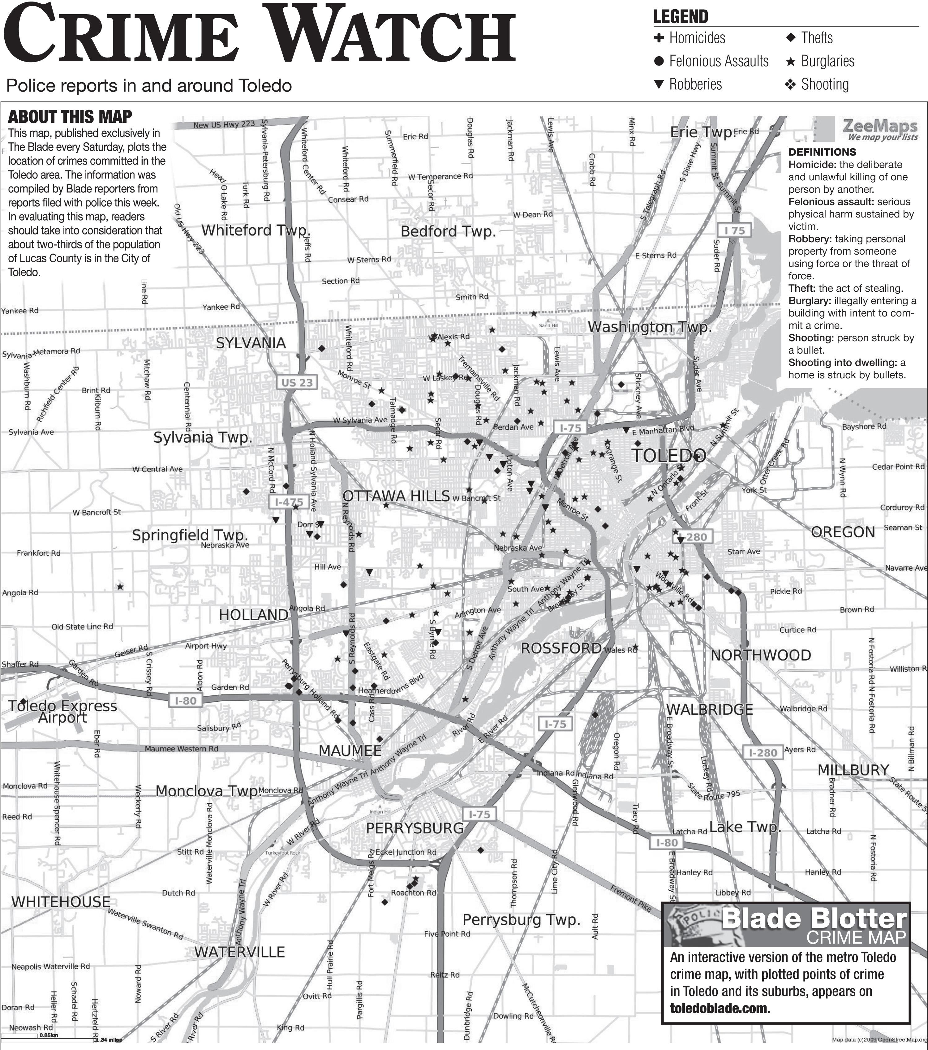 Suburban Crime Log 1 13