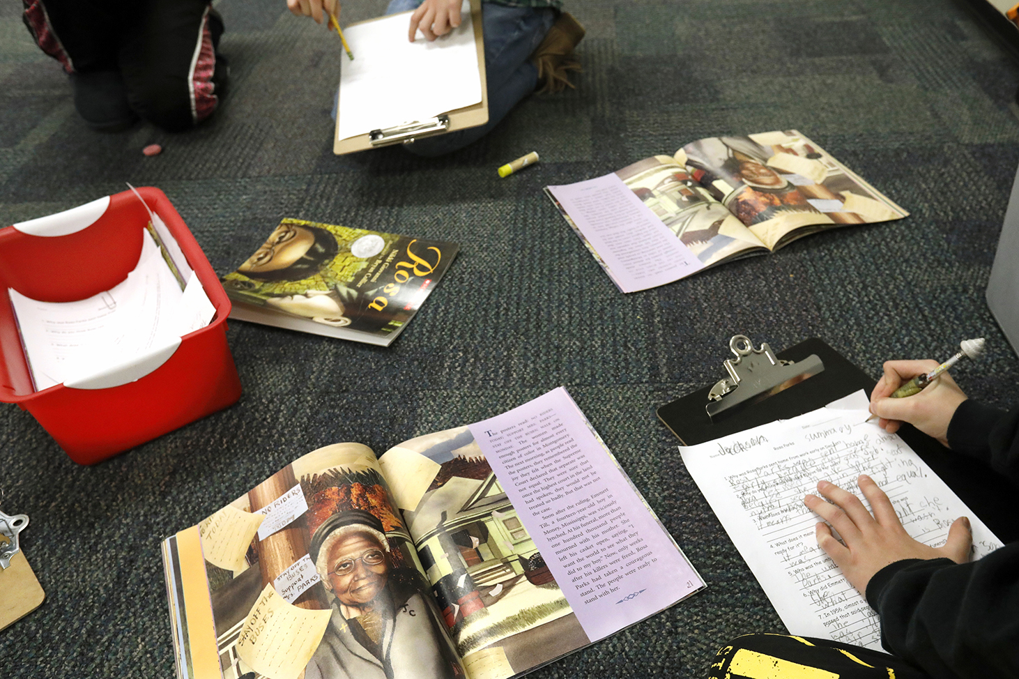Exhibits Programs Make Black History Come Alive In Local Schools