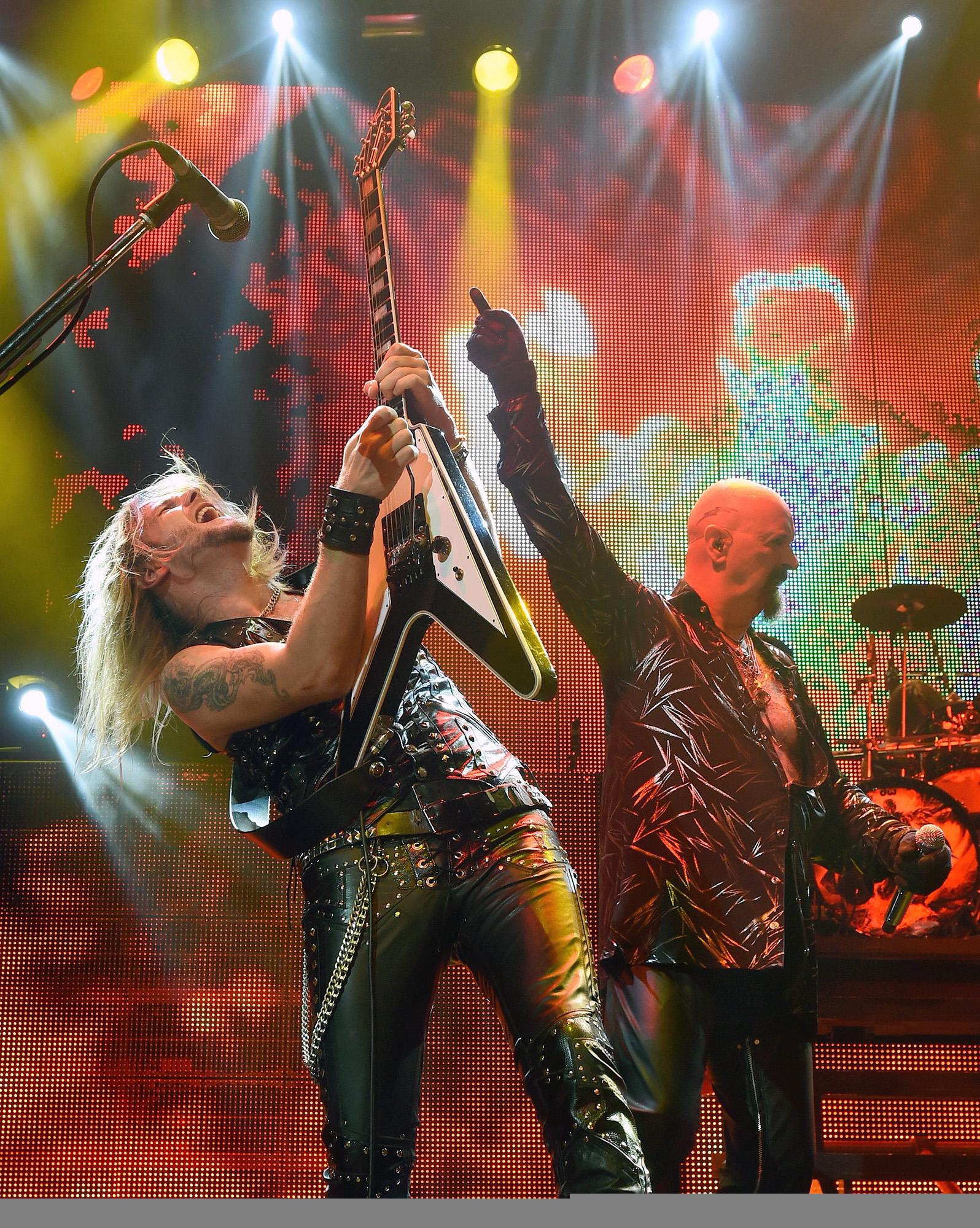 Judas Priest Goes Ballistic On Firepower The Blade