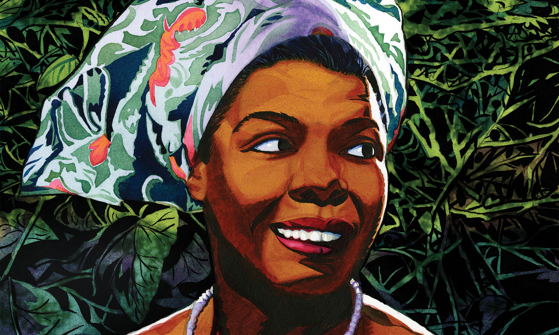 Celebrate National Poetry Month With Maya Angelou