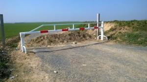 BARROERE AGRICOLE REALISE EN NOS ATELIER DE BEAUCHAMP 95250 CHAUDRONNERIE METALLERIE
