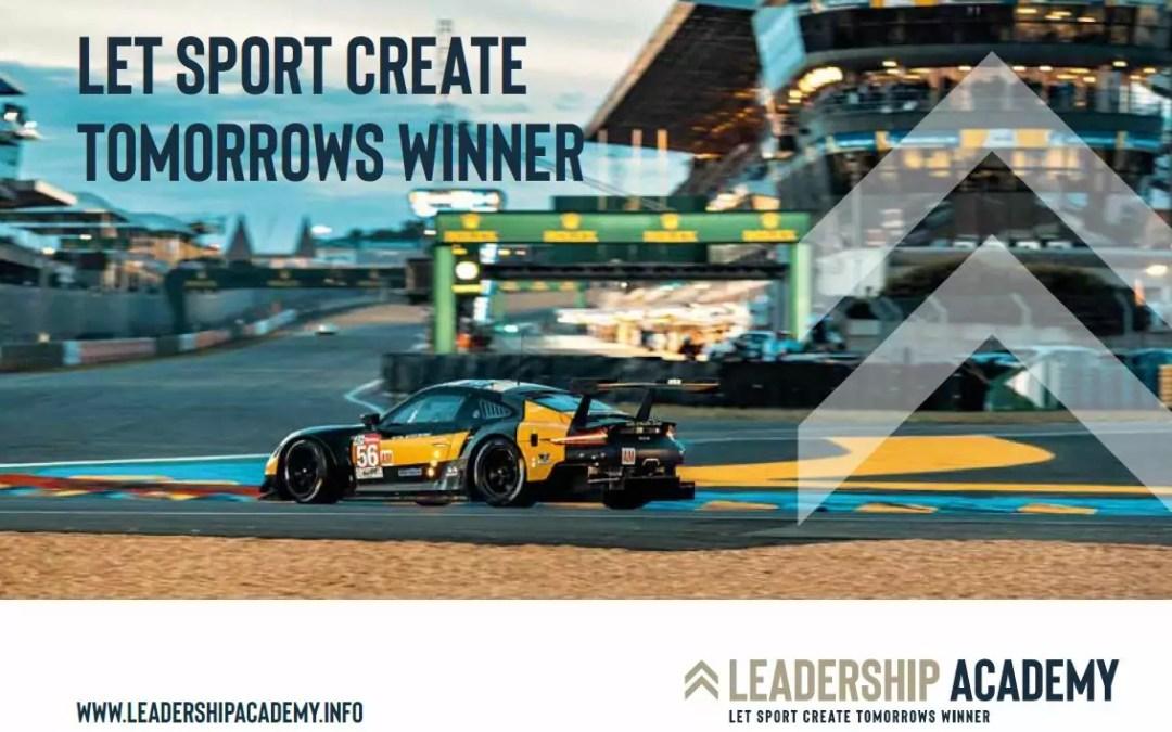 Leadership Academy – let sport create tomorrows winner