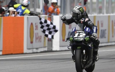 MotoGP Sepang 2019: Vinales beats Marquez, Rossi narrowly misses podium