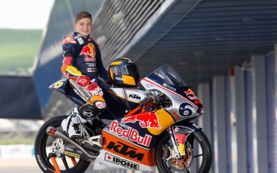 Young talent becomes Red Bull rookie