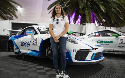 Tatiana Calderon – Successful activation on the Porsche Mobil 1 Supercup platform