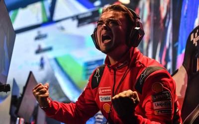 Neuer Weltmeister in der eSports MotoGP