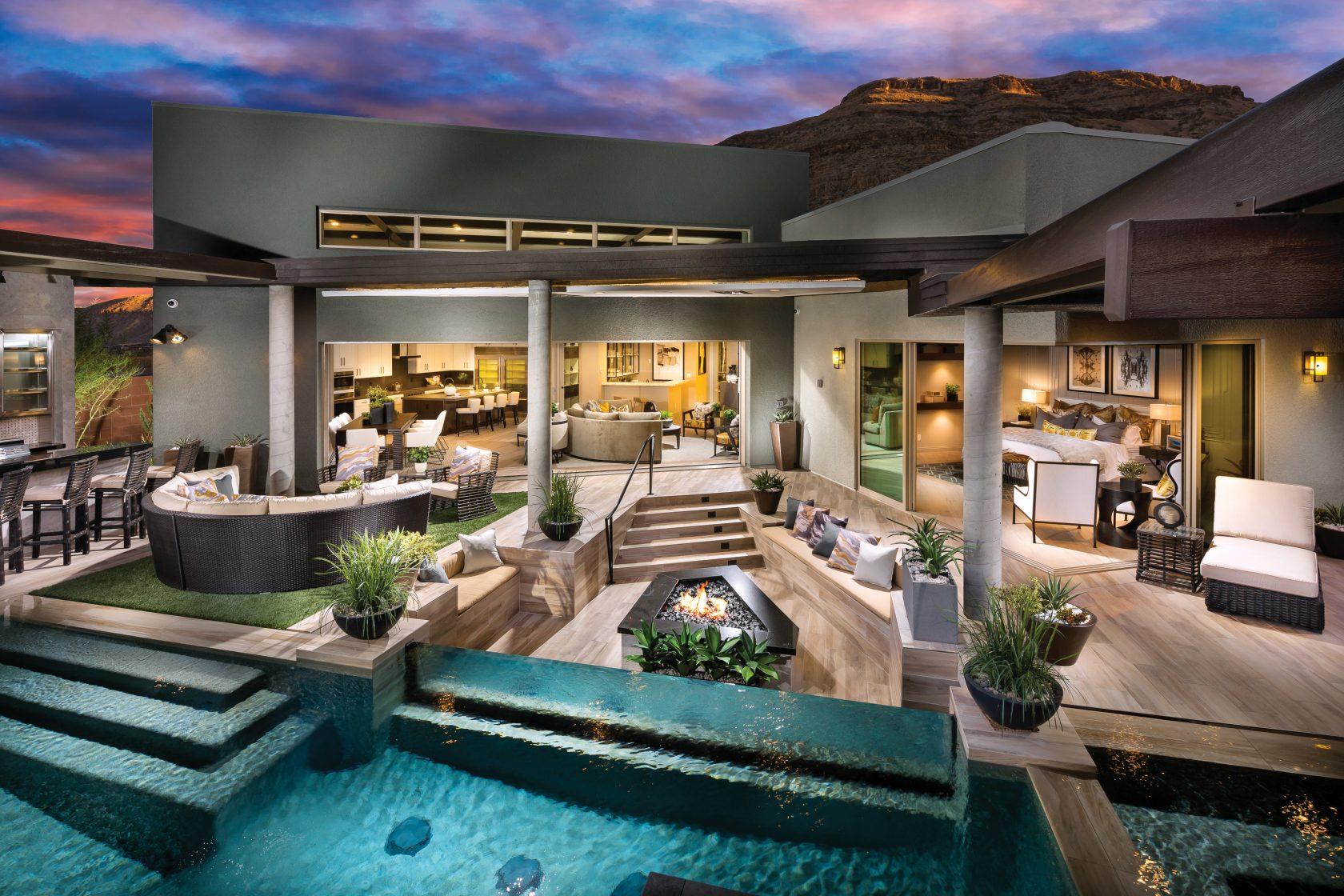 Patio Ideas: Outdoor Fireplaces Meet Hygge Home Decor ... on Backyard Patio  id=26695