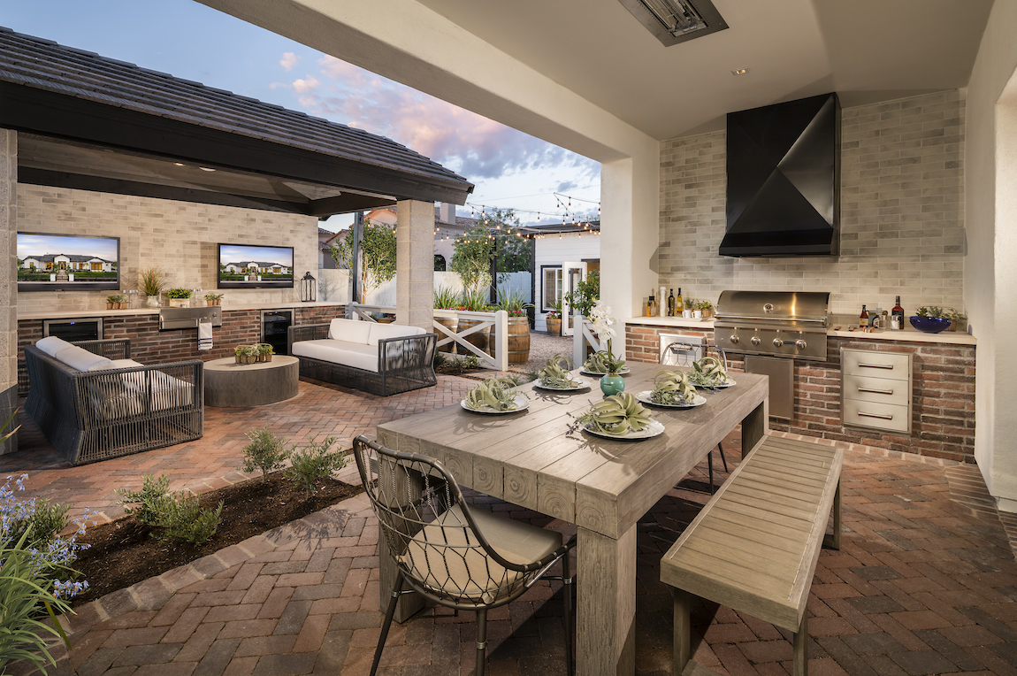 dream designs ideas for your outdoor kitchen build on kitchen design remodeling ideas better homes gardens id=32450