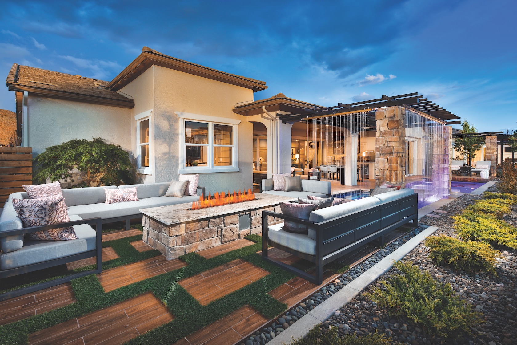 How to Arrange Patio Furniture for Outdoor Living | Build ... on Outdoor Living And Patio id=80286