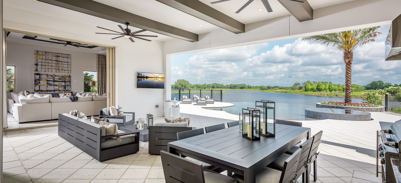 Indoor Outdoor Living Space Ideas to Inspire Your Home Design on Enclosed Outdoor Living Spaces  id=77082