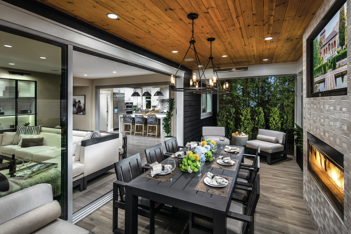 Indoor Outdoor Living Space Ideas to Inspire Your Home Design on Enclosed Outdoor Living Spaces  id=26035