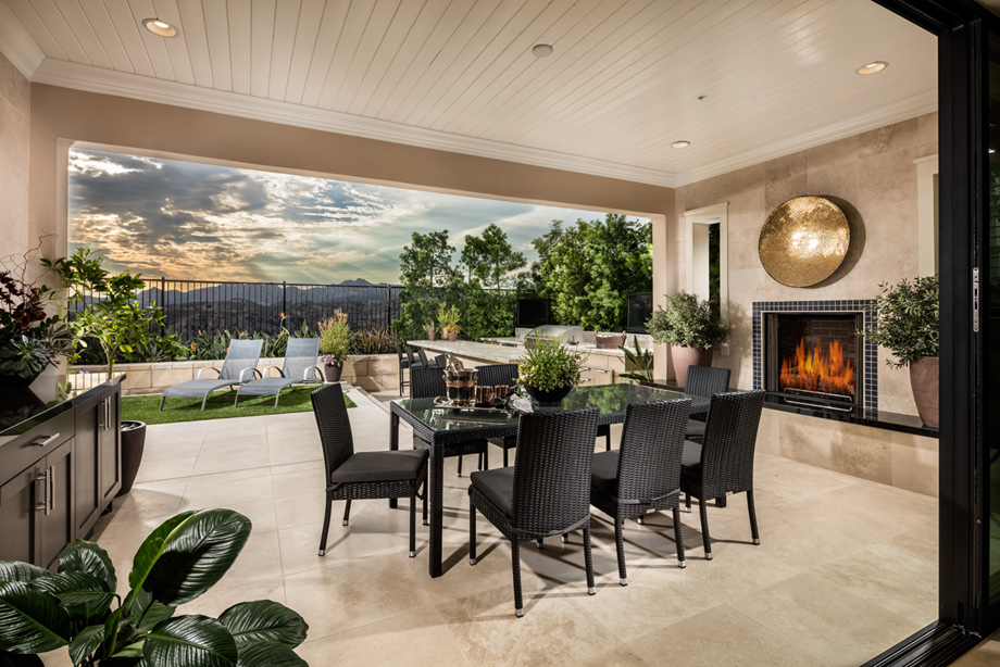 Avila at Porter Ranch - Glen Collection | The Augusta Home ... on Fancy Outdoor Living id=57803