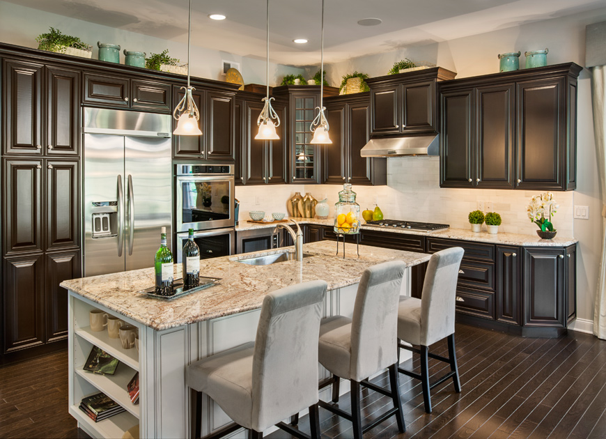 Meadow Glen at Skippack | The Deerfield Home Design on Model Kitchens  id=43855