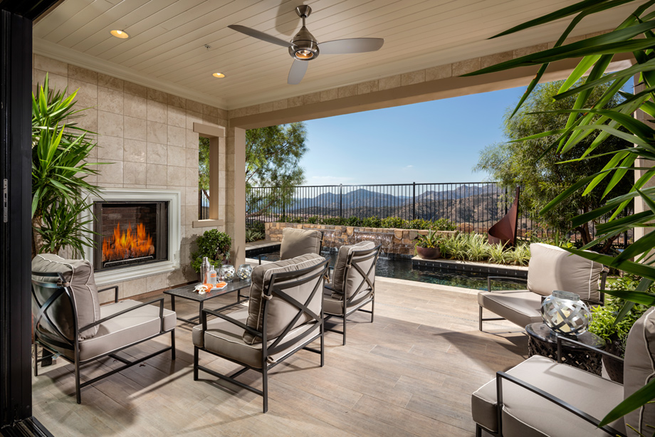 Avila at Porter Ranch - Glen Collection | The Mayberry ... on Fancy Outdoor Living id=69267