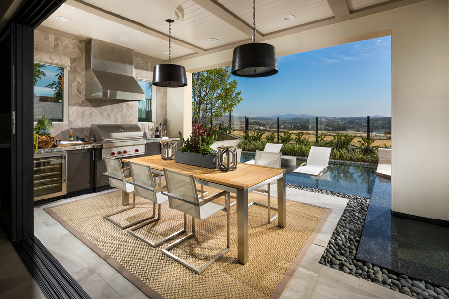 Toll Brothers at Robertson Ranch - The Bluffs | The ... on Fancy Outdoor Living id=27799