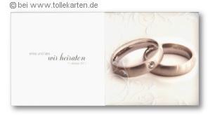 Hochzeitskarten mit Stil.