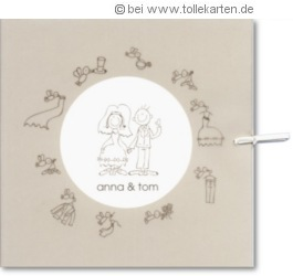 Lustige Einladungskarte Zur Hochzeit:
