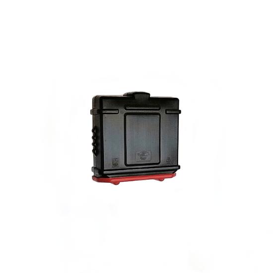EZ Permit Box Black and Red