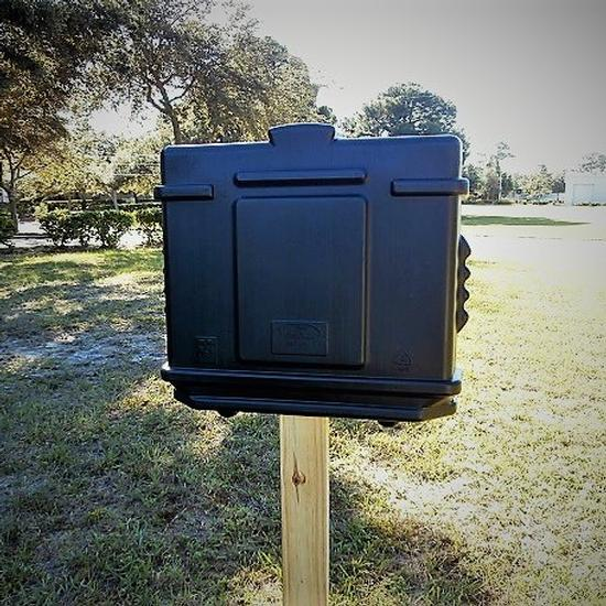 EZ Permit Box Black and Black