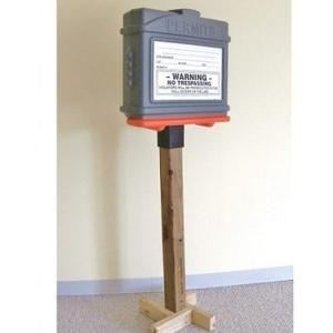 EZ Permit Box Construction Display Kit