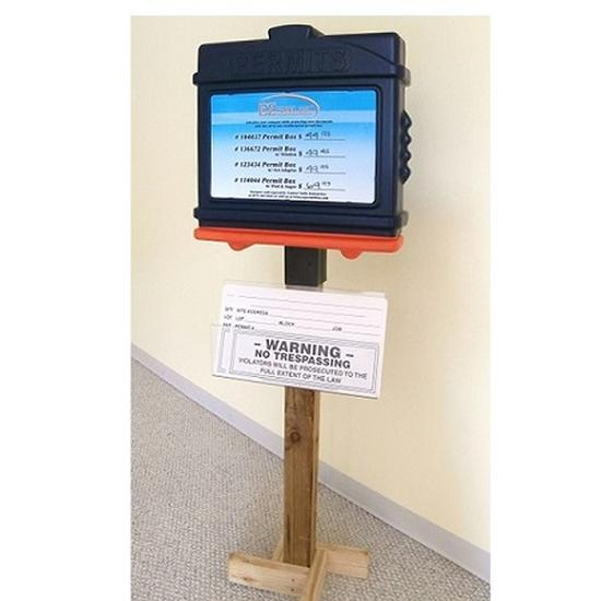 EZ Permit Box Store Display Kit