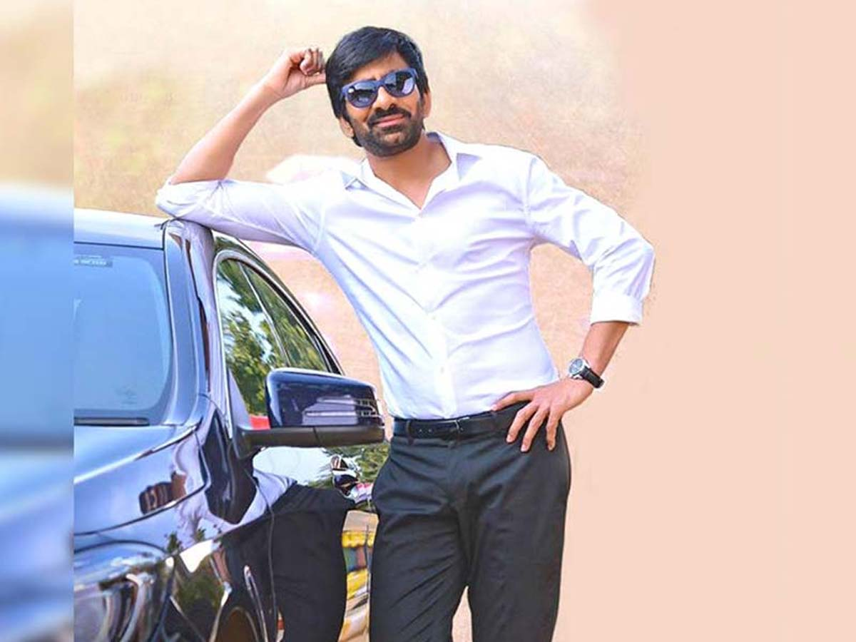 Ravi Teja to shoot for two projects simultaneously