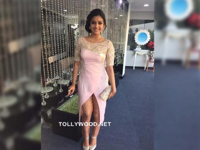 Keerthy Suresh doesn't change her stance on donning a bikini