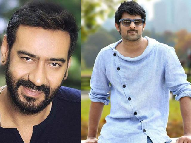Impossible to ignore Prabhas and Ajay Devgn in one frame
