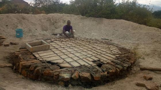 Sofort wurde mit dem Bau neuer Sanitäranlagen begonnen