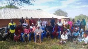 Danksagung für die Lebensmittelhilfe in Toloha