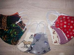 Mund-/Nase-Masken Auswahl