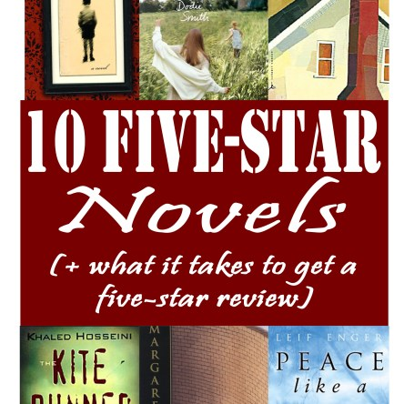 10 Five-Star Novels (+ What It Takes to Get a Five-Star Rating) #bookrecommendations #booklist #books #bookrecs