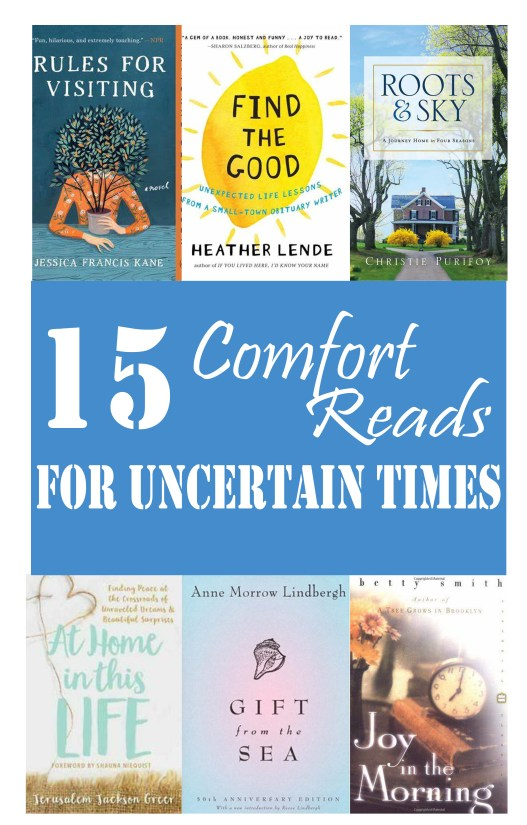 15 Comfort Reads for Uncertain Times