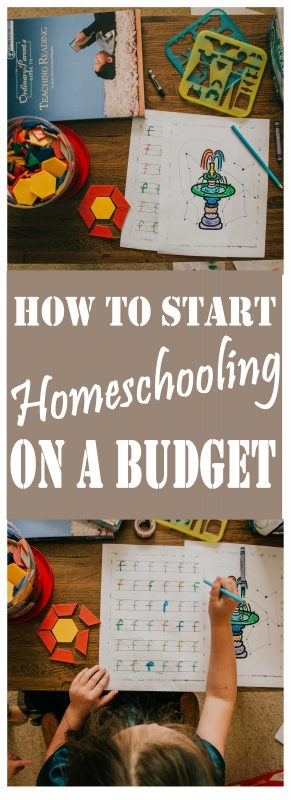 How to Start Homeschooling for Cheap