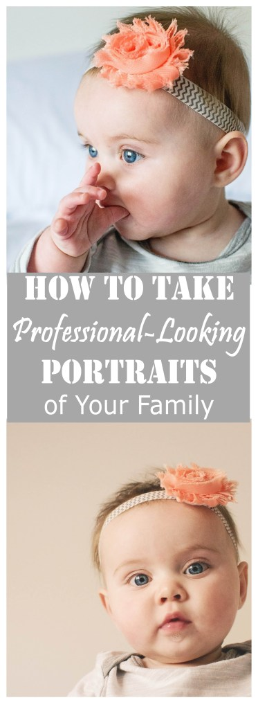 How to Take Professional-Looking Pictures of Your Family at Home