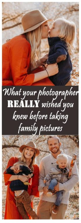 The un-edited truth from a family photographer of things EVERY family should know before a photo shoot!