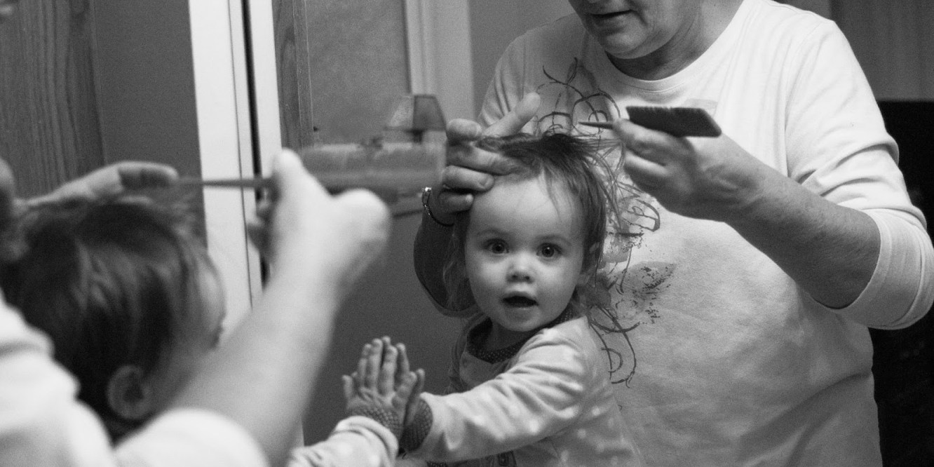 A Few Snaps Of The Weekend A First Haircut