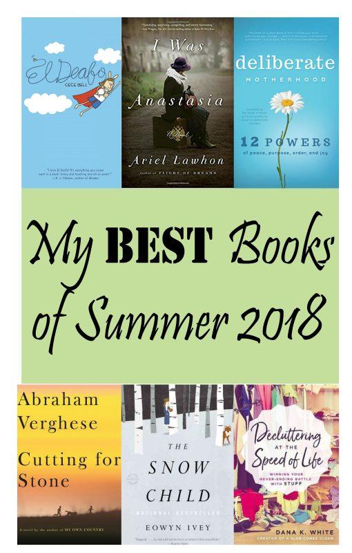 My Best Books of Summer 2018