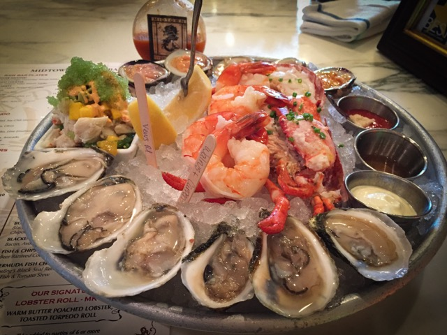 ... It started on this plate. Walrus and Carpenter Oysters at Midtown Oyster Bar | Newport ... & Walrus and Carpenter Oysters - Tolstoy and Totes