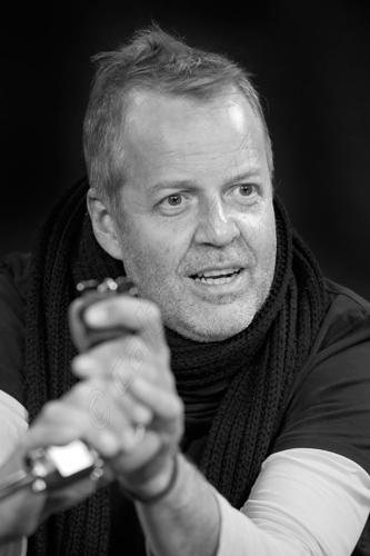 Wolfgang Haffner. Fotografía © Sergio Cabanillas, 2013