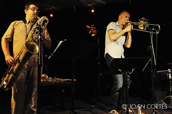 13_ LUIS VINA & MATTHIAS MAHLER (©Joan Cortès)_17jul13_#1Têtes de Jazz!_Avignon