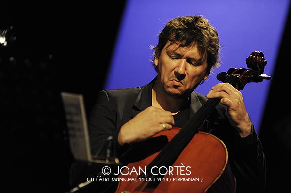 03_VINCENT COURTOIS (©Joan Cortès)_11oct13_25Jazzèbre_TMunicipal_Perpinyà
